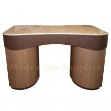 103 Brown Nail Salon Desk