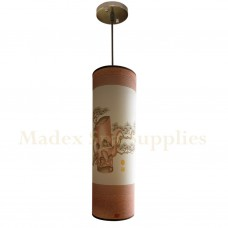 10535S Long Tube Hanging Light (Chinese Scenery)