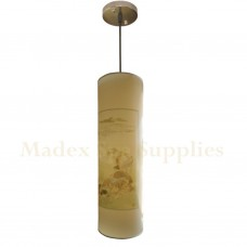 10536B Long Tube Hanging Light (Chinese Scenery)