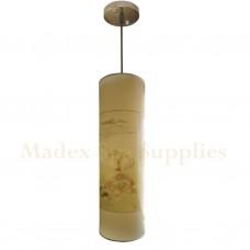 10536B Long Tube Hanging Light (Chinese Scenery)