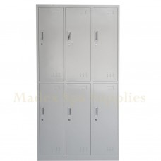 1444 Locker - 6 Compartments