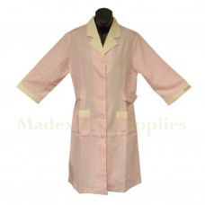 2103 Pink Long Sleeves Woman Uniform