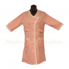 2104 Peach Long Sleeves Woman Uniform