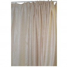 30-104 Light Yellow Fabric Curtain