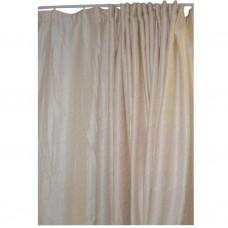 30-104 Light Yellow Fabric Curtain