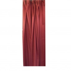 30-115 Red Fabric Curtain