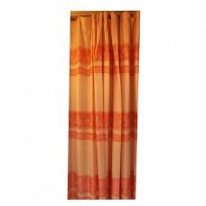 30-116 Peach Bi-Colored Fabric Curtain