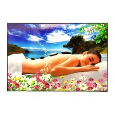 35124 Lady on a Beach