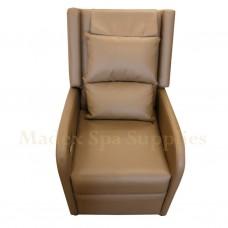 A013-014 Mini Brown PVC Leather Sofa