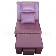 A02 - 005 Purple PVC Leather Massage Sofa