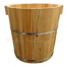 B224 Foot Massage Wooden Bucket