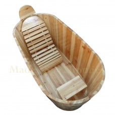 BT2200 Wooden Bathtub With Covers