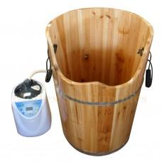 BT226 Wooden Bucket with Steamer