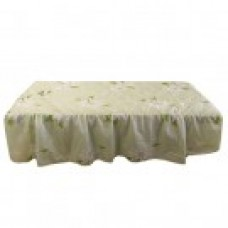 27106 Table Cover (Green Floral Pattern with Face Hole)