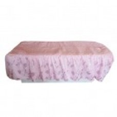 27107 Table Cover (Pink Floral Pattern with Face Hole)