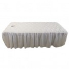 27105 Table Cover (White with Face Hole)