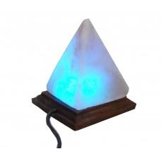 DLA45 Trigonal Cone Crystal Himalayan Rock Salt Lamp
