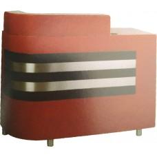 215 Black Stripes Reception Desk