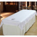 27011 Massage Table Flat Sheet (White with Face Hole)